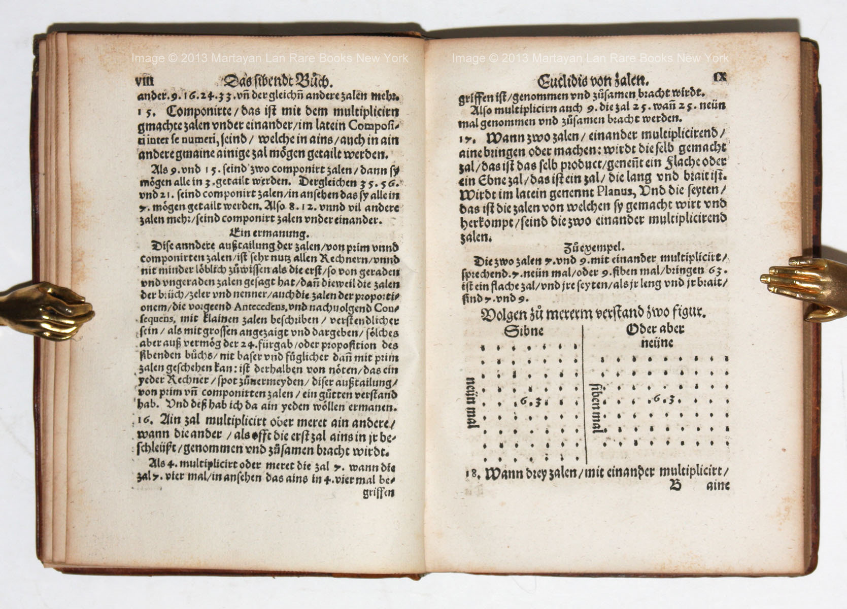 1555 Scheubel's multiplication definition from Euclid's Elements