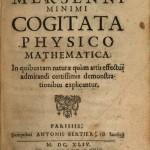 1644-MMERSENNE_Minimi_Cogitata_Physico_Mathematica_Title_Page